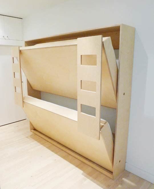 Diy murphy beds decorating your small space - Fold out beds for small spaces ideas ...
