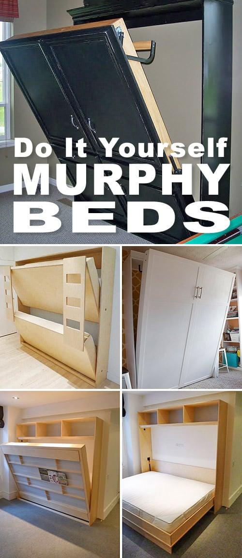 DIY Murphy Beds DIY Murphy Beds