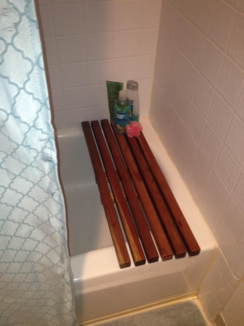 DIY bath caddy-5