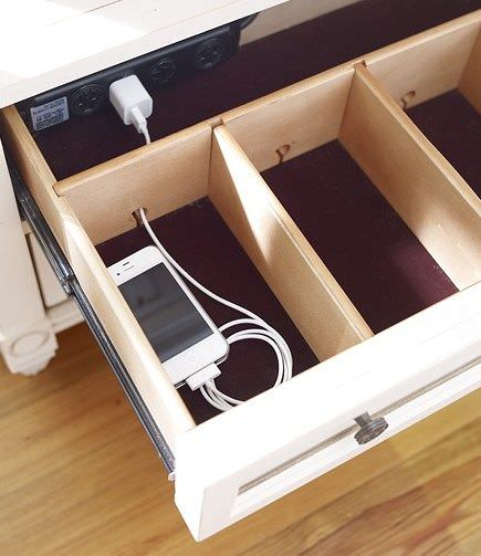 Do It Yourself Clever Charging Stations Decorating Your