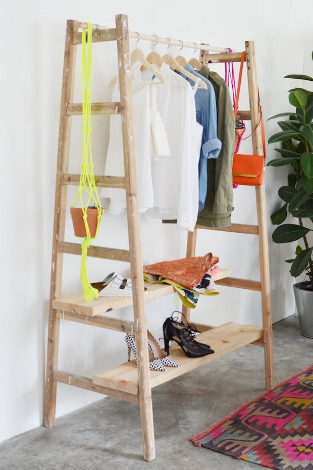 Diy Clothes Racks That Show Off Your Stylish Wardrobe