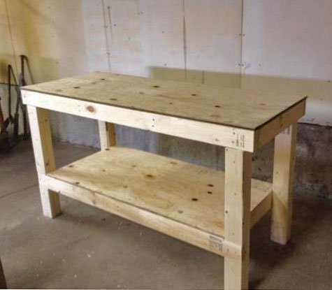 diy workbench plans tutorials decorating your small space