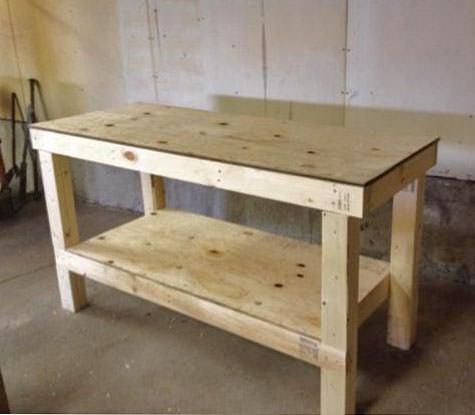 DIY work bench-1