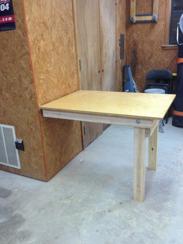 DIY Workbench Plans Tutorials – Easy Garage Workbench Plans