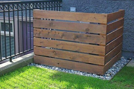 hide the ugly how to hide outdoor eyesores decorating your small space. Black Bedroom Furniture Sets. Home Design Ideas