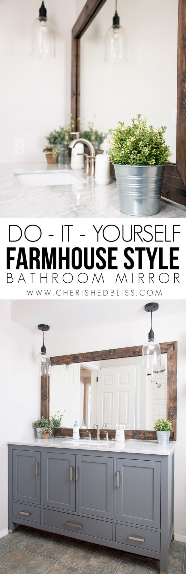 DIY Modern Farmhouse Decor Projects | Decorating Your Small Space