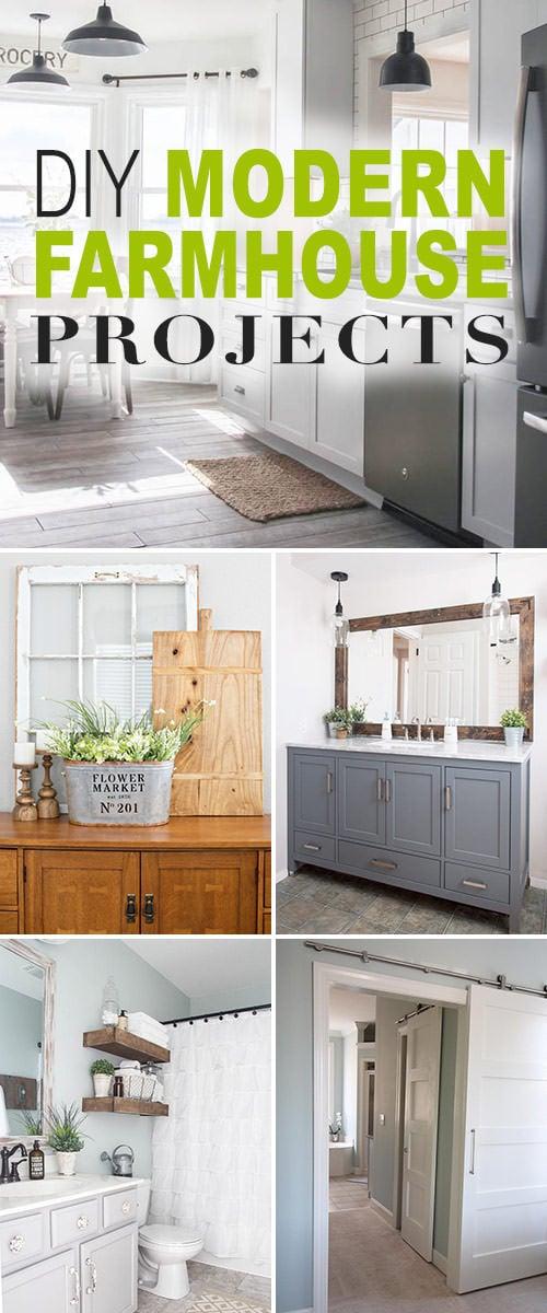 DIY Modern Farmhouse Decor