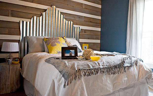 Ways to Decorate with Corrugated Metal | Decorating Your Small Space