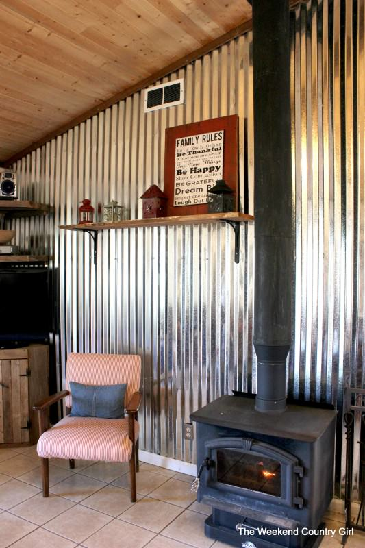 Ways to use corrugated metal-1