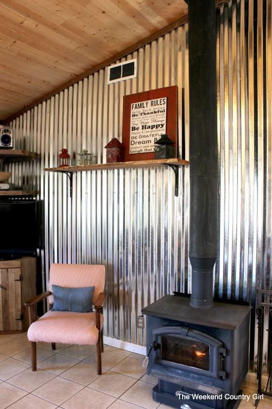 Ways to use corrugated metal-1