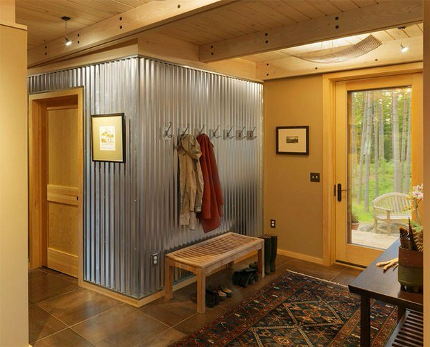 Corrugated Metal Decor Ideas Amp Projects Decorating