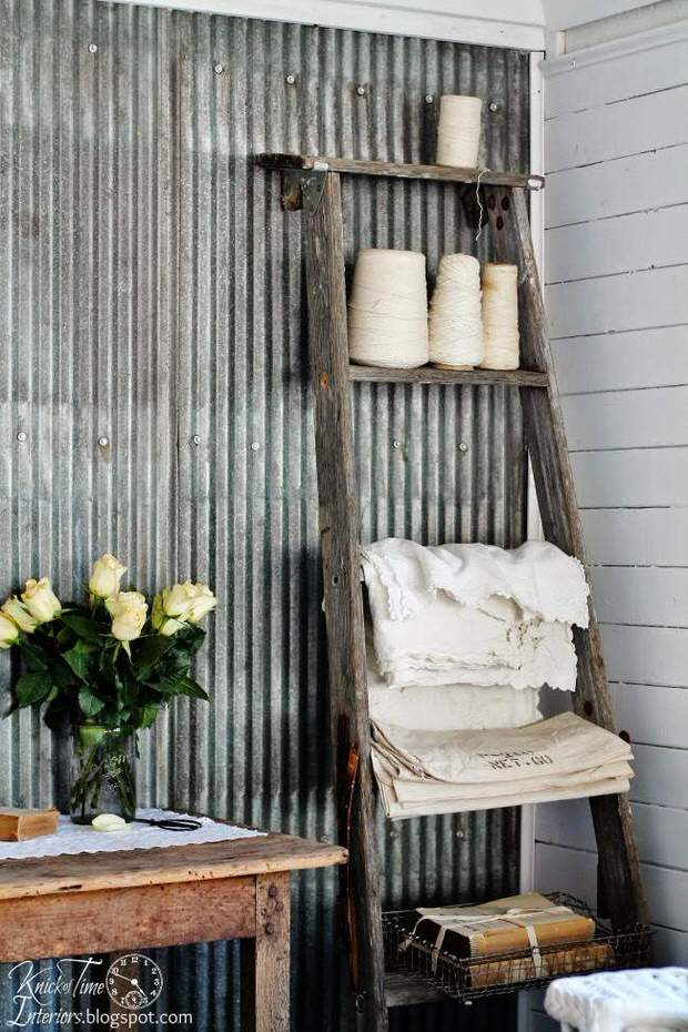 ways to decorate with corrugated metal decorating your