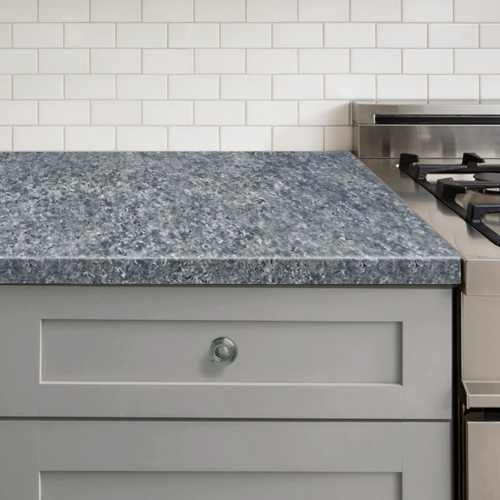 DIY Painted Countertops - slate countertop kit