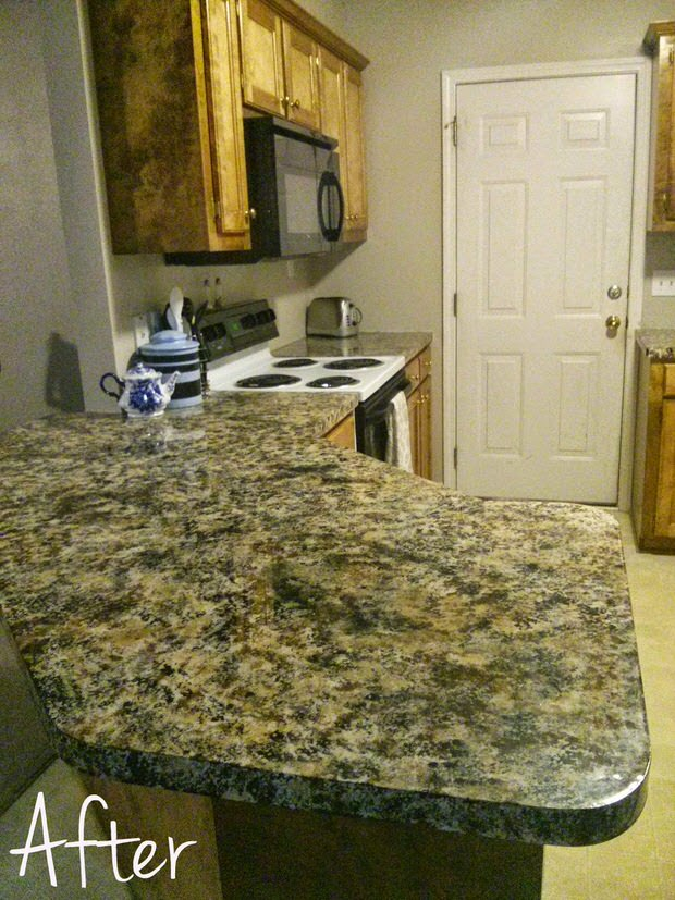 painted countertop sealer diy painted countertops decorating your small space 501