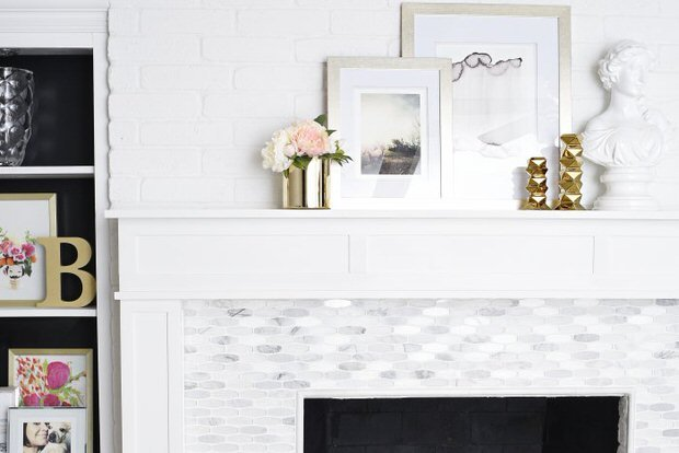 Fireplace makeover-1