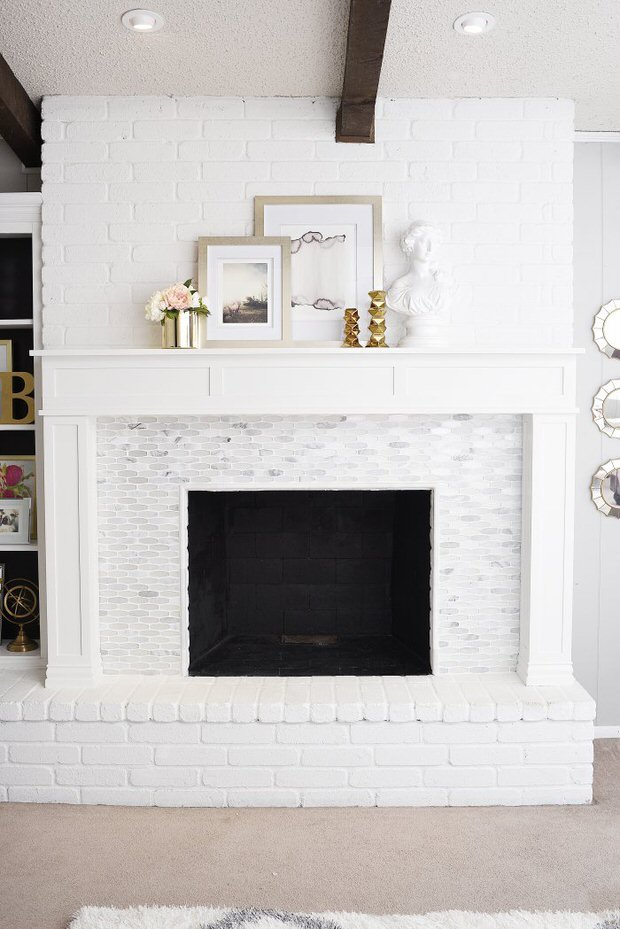 Fireplace makeover-2