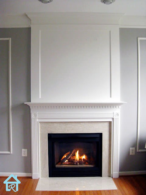 Fireplace makeover-8