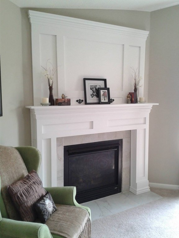 9 awesome fireplace makeover projects decorating your Corner fireplace makeover ideas