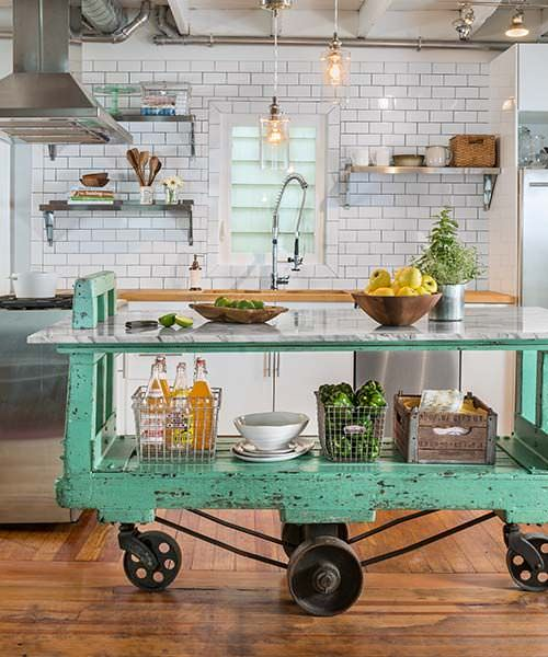 Ingenious Repurposing Unusual Kitchen Islands And Printers: How To Make A Kitchen Island
