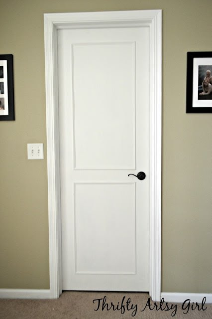 Interior door makeover projects decorating your small space for Diy interior door designs