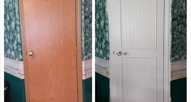 Interior Doors For Mobile Homes: Interior Door Makeover Projects