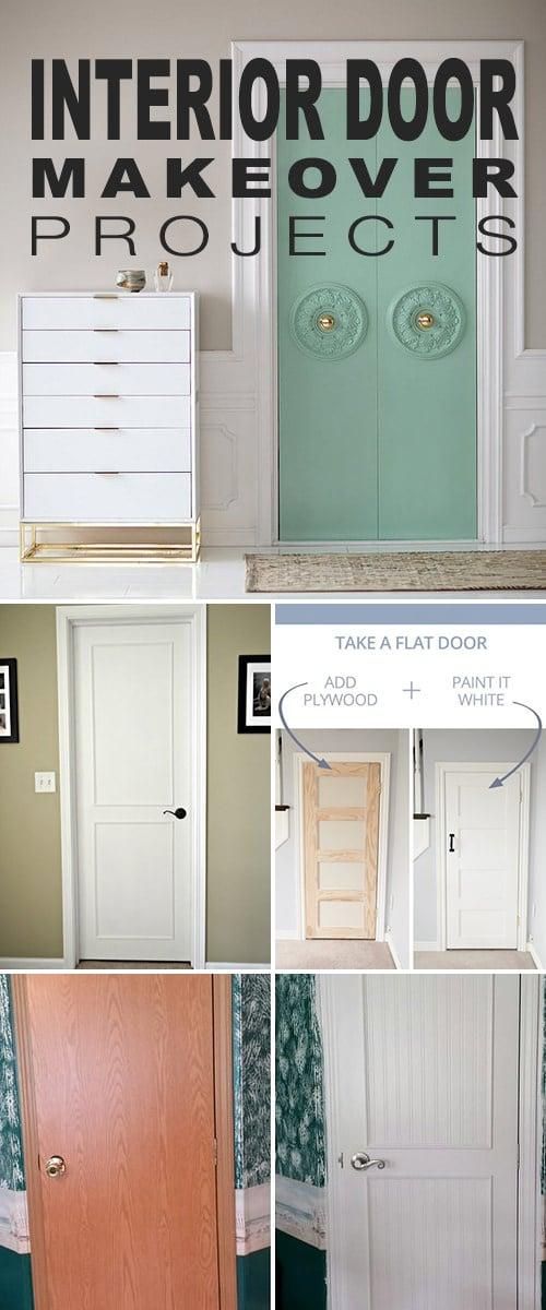 Interior Door Makeover Projects