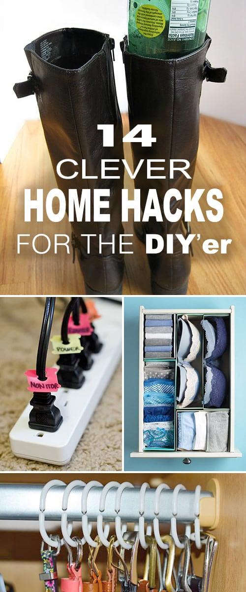 14 Clever Home Hacks for the DIY'er