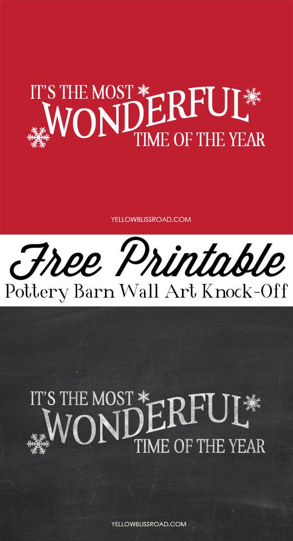 Free Christmas printable-3