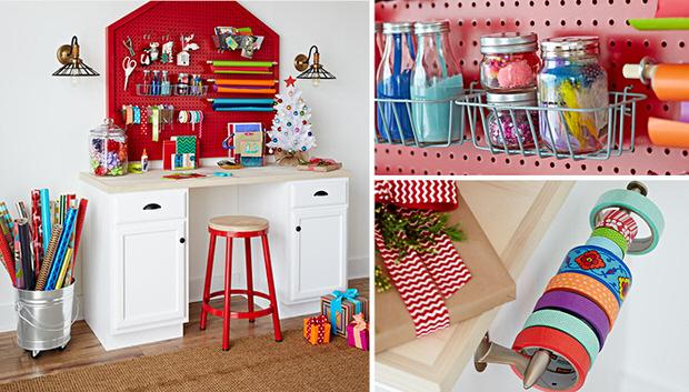 Organize gift wrap-1