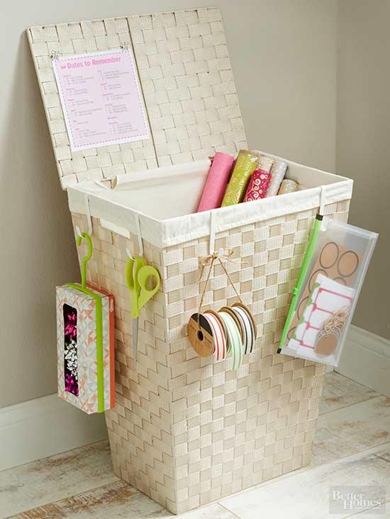 Organize gift wrap-3