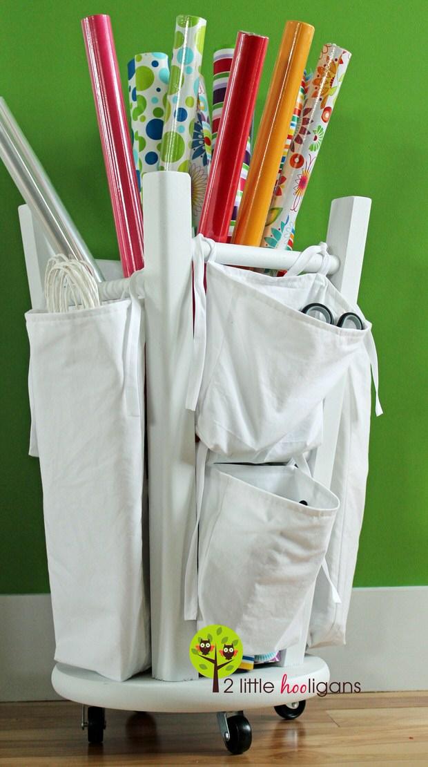 Organize gift wrap-6