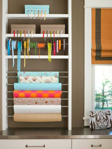 Gift Wrap Organizing Ideas Amp Projects Decorating Your