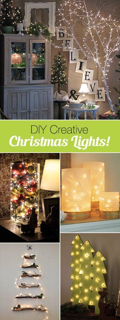 Creative Christmas Light Ideas