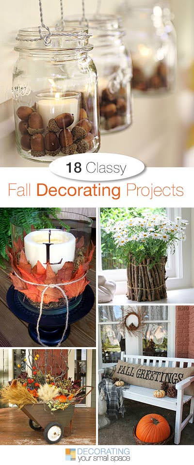 18 Classy Fall Decorating DIY Projects
