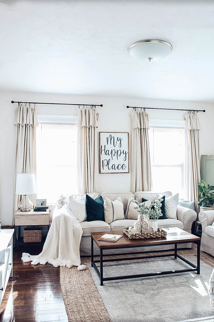 12 Fabulous Diy Curtains Curtain Rods You Can Make Ohmeohmy Blog