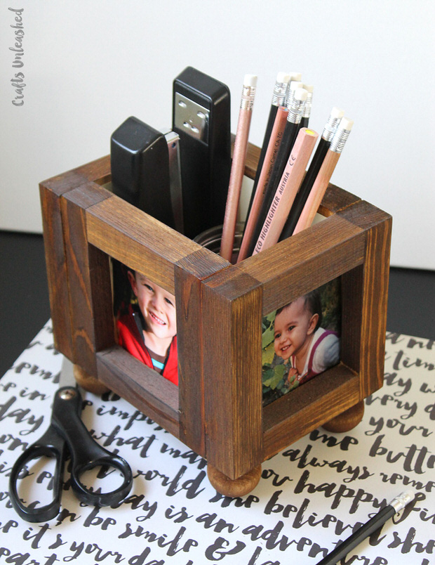diy desk organizing ideas projects decorating your small space. Black Bedroom Furniture Sets. Home Design Ideas