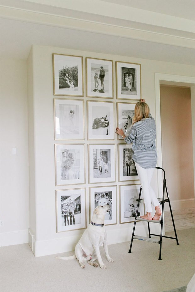 DIY Black White Decor Projects Decorating Your Small Space