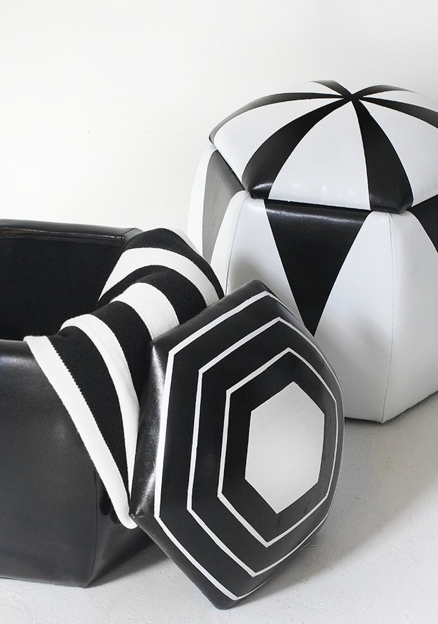 DIY Black & White Home Decor Projects