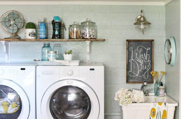 Diy Laundry Room Ideas Projects Ohmeohmy Blog