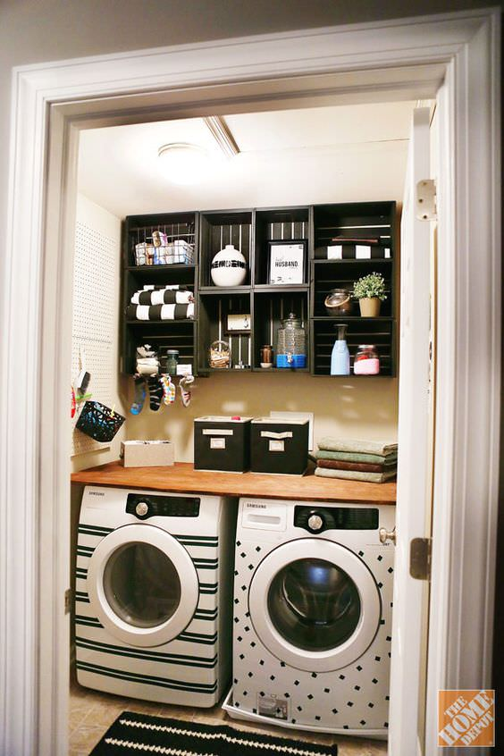 DIY Laundry Room Ideas & Projects | Decorating Your Small ...