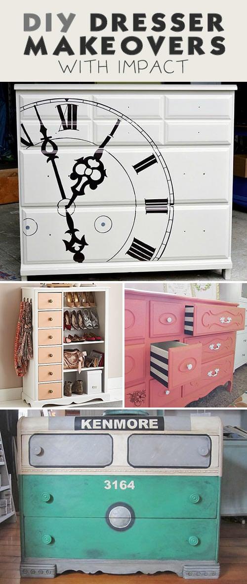 DIY Dresser Ideas & Makeovers