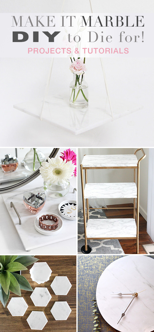 Make it Marble  -  DIY to Die for!
