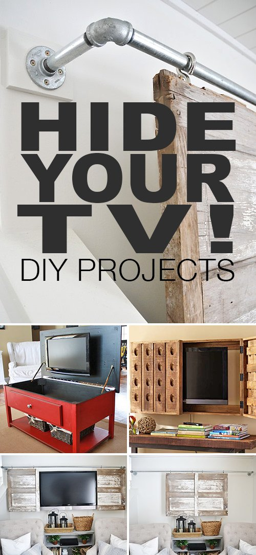 Hide Your TV! - DIY Projects