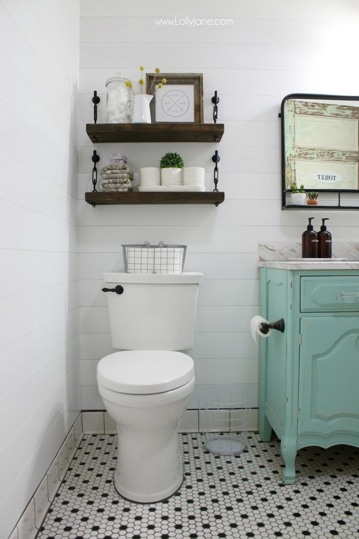 Small Bathroom Ideas & DIY Projects | Decorating Your Small Space