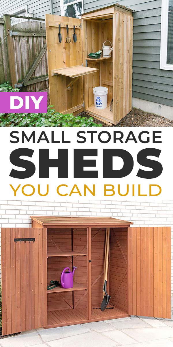 Diy Small Storage Shed Ideas You Can, Storage Shed Ideas Diy