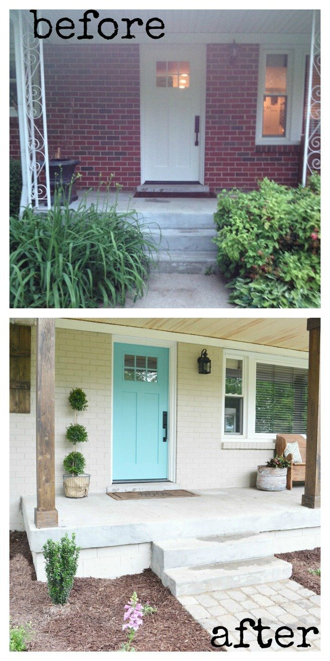 fabulous front porch decorating ideas makeovers decorating your small space. Black Bedroom Furniture Sets. Home Design Ideas