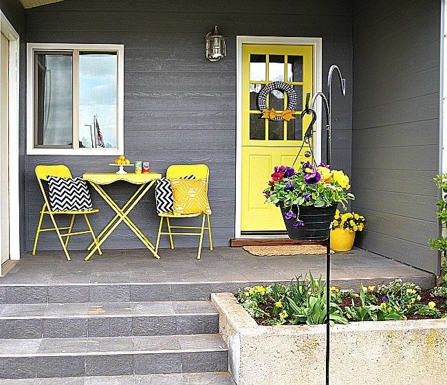 Decorating Ideas For A Small Front Porch Porches Ideas: Fabulous Front Porch Decorating Ideas & Makeovers