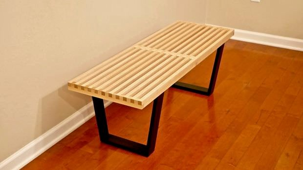 This DIY Mid Century Modern Sofa Is From U0027Modern Buildsu0027. You Could Easily  Recover Old Sofa Cushions That Are In Good Structural Shape For ...