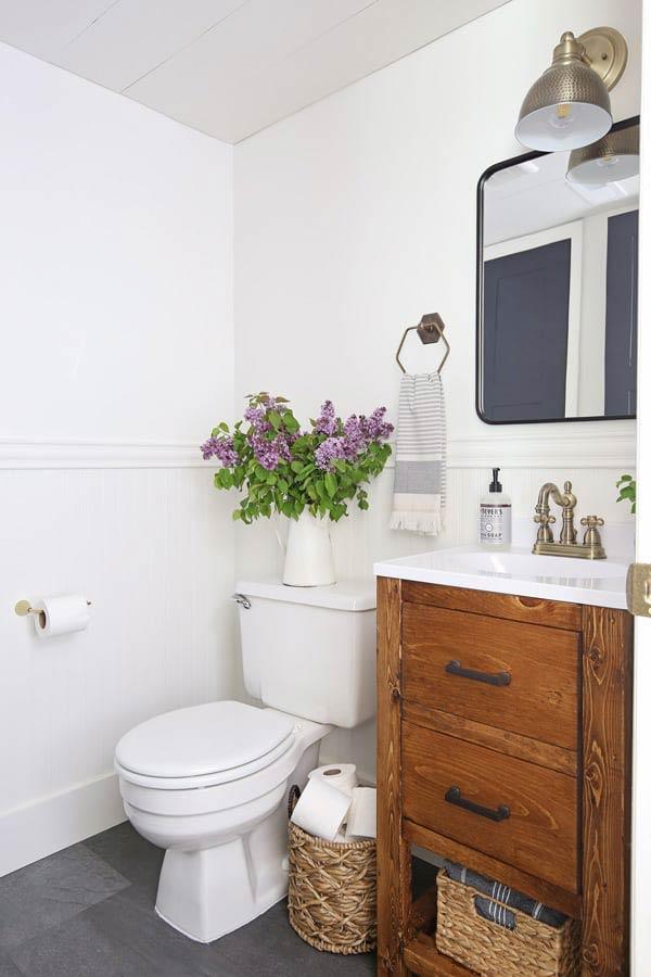 10 Pretty Diy Small Bathroom Makeovers Budget Ideas Ohmeohmy Blog