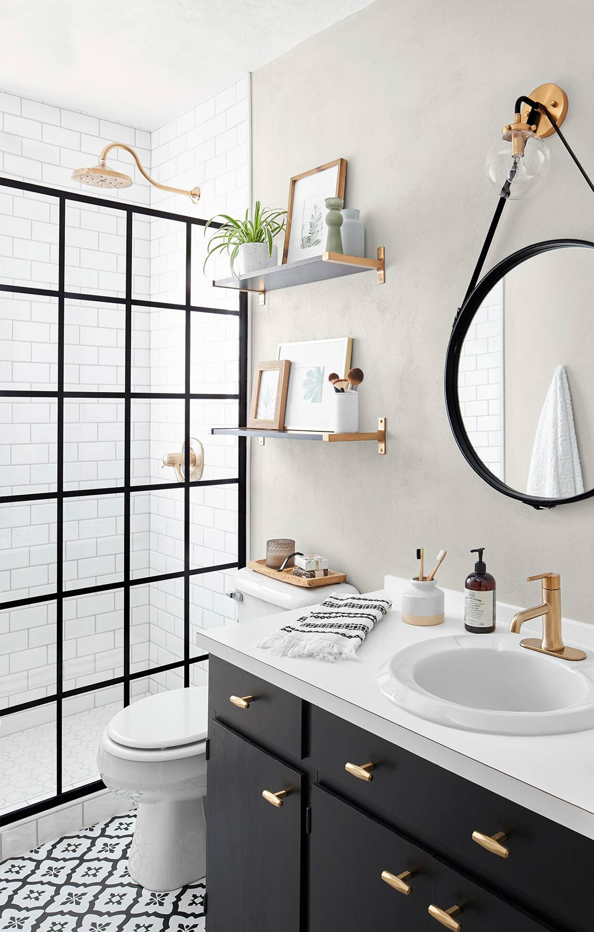 10 Pretty Diy Small Bathroom Makeovers Budget Ideas Ohmeohmy Blog